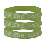 Neon Silicone Bowlers Bracelet